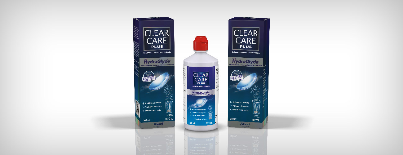Clear Care Plus com Hydraglyde